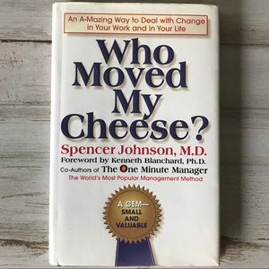 Who Moved My Cheese Book by Spencer Johnson